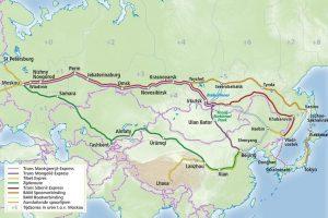 De Trans-Siberische spoorlijn