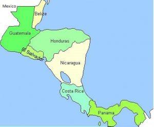 Landen in Zuid-Amerika