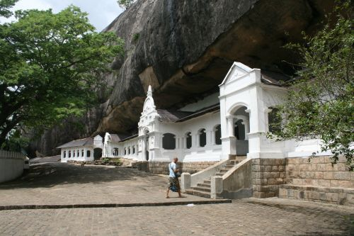 Cave temple Sri Lanka